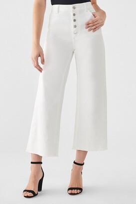 DL1961 Hepburn High Rise Wide-Legged Jeans