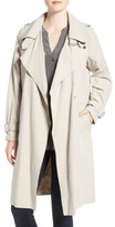 French Connection Women's Drape Front Trench Coat