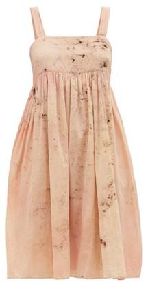 Mimi Prober - Clara Botanical-dyed Cotton-voile Dress - Pink