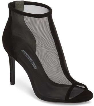 Charles by Charles David Charles David Peep-Toe Mesh Booties - Cathie
