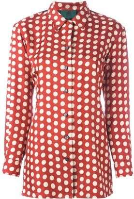 Jean Paul Gaultier Pre Owned Dotted Vest Panel Shirt