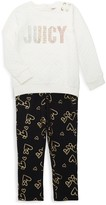 Juicy Couture Little Girl's 2-Piece Cotton-Blend Quilted Top & Leggings Set
