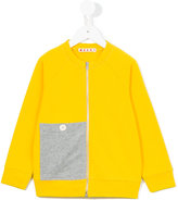 Marni contrast pocket sweatshirt - kids - Cotton - 4 yrs
