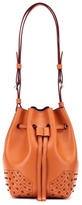 Tod's Wave Small Leather Bucket Bag