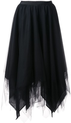 Marc Le Bihan Asymmetric Full Skirt