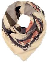 Pieces MAJA Scarf whitecap gray