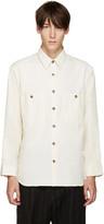 Umit Benan Off-white Two-pocket Shirt