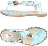 Moschino Toe strap sandals