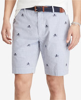 "Polo Ralph Lauren Men's 9"" Stretch Classic-Fit Seersucker Shorts"