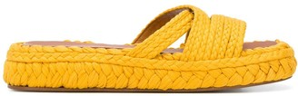 Clergerie Woven Slides