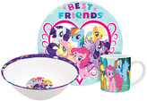 My Little Pony 'Best Friends' Three-Piece Dinnerware Set