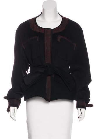 Yang Li Wool-Blend Embellished Jacket