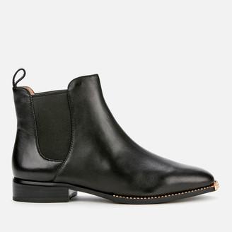 Coach Women's Nichole Leather Chelsea Boots - Black