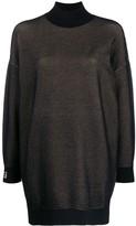 Fendi high neck jumper dress