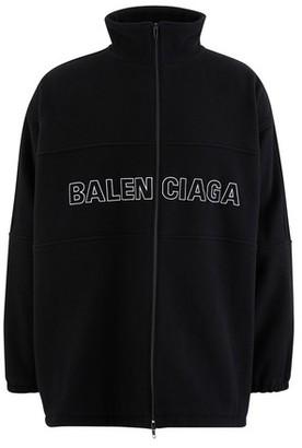 Balenciaga Logo wool jacket