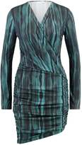 J. Lindeberg LALEH Jersey dress green/black