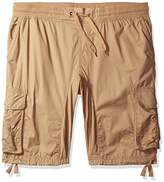 Southpole Men's Jogger Shorts With Cargo Pockets In Solid and Camo Colors (Big and Tall)