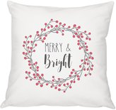 Cathy's Concepts Merry & Bright Square Pillow