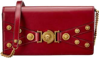 Versace Tribute Evening Leather Shoulder Bag
