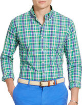 Polo Ralph Lauren Plaid Cotton Poplin Shirt