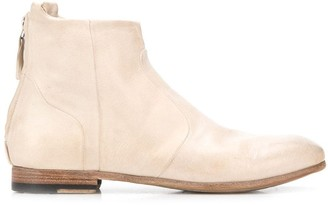Silvano Sassetti low heel ankle boots