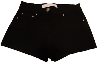 Elisabetta Franchi Black Cotton Shorts for Women