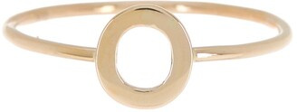 Bony Levy 14K Yellow Gold Initial Ring - Multiple Letters Available