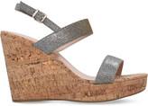 Carvela Kay metallic wedge sandals