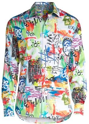 Robert Graham Borderline Dress Shirt