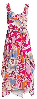 Emilio Pucci Women's Rustic Cotton Midi Dress