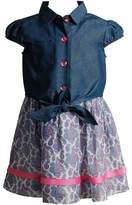 Youngland Toddler Girl Floral Dress & Popover Shirt Set