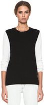 Equipment Shane Crew Sweater in Black