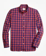 Brooks Brothers Check Broadcloth Sport Shirt