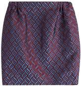 Golden Goose Deluxe Brand Printed Knit Mini-Skirt