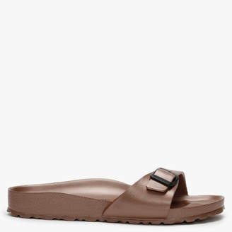 Birkenstock Madrid EVA Metallic Copper Mules