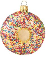 Nordstrom Handblown Glass Sprinkle Donut Ornament