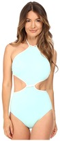 Kate Spade Cut Out High Neck Maillot Women's Swimsuits One Piece
