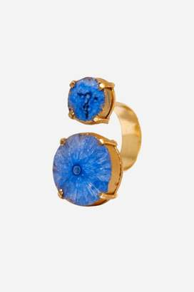 Johnny Was Blue Reef Runner Wrap Ring