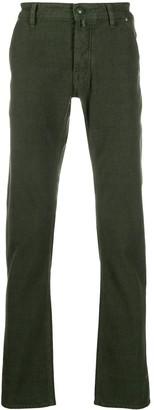 Jacob Cohen Straight-Leg Five Pocket Jeans