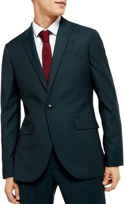 Topman Maverick Skinny Fit Suit Jacket