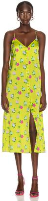 BERNADETTE Hailey Slip Dress in Rose Multi & Yellow | FWRD