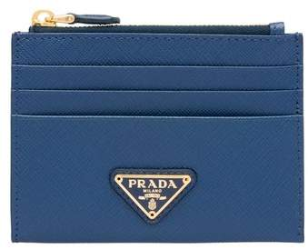 5d6af23b755871 Prada Leather Card Holder - ShopStyle