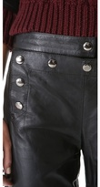 McQ by Alexander McQueen Alexander McQueen Marine Leather Pants