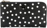 Dolce & Gabbana polka dot print wallet - women - Leather - One Size