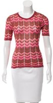 Missoni Knit Patterned Top