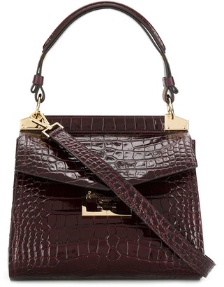 Givenchy crocodile effect Mystic tote bag