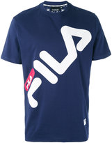 Fila logo print T-shirt - men - Cotton - M