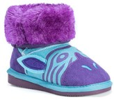 Muk Luks Kids' Zeb Blue Zebra Boot Toddler/Preschool