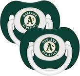Baby Fanatic MLB Oakland A's 2-Pack Pacifiers