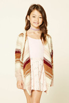 Forever 21 FOREVER 21+ Girls Striped Cardigan (Kids)